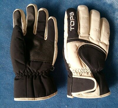 AS NEW Mens Ski Snow Gloves TOPS Mens Small QUALITY