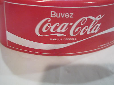 Rare~Red Buvez Coca-Cola Ashtray~Triangle~Free Ship~LBDLL
