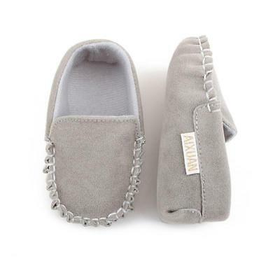 Baby Toddler Suede Moccasins Leather Loafers Kids Shoes Baby Boys Girl Shoes FW
