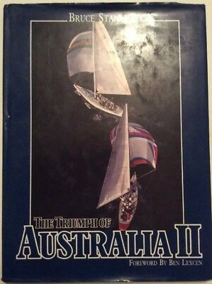 """The Triumph of Australia II"" by Bruce Stannard(Hardcover, 1983)"