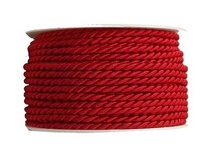 Cord red 4mmx25m Cord band Craft cord craft cord 0.36 EUR/Meter