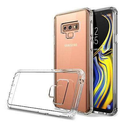 For Samsung Galaxy Note 9 Crystal hybrid Clear Case Slim Shockproof Bumper Cover