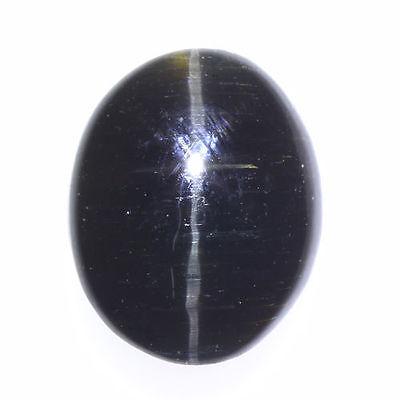 3.270 Ct VERY RARE FINE QUALITY 100% NATURAL SILLIMANITE CAT'S EYE INTENSE CAB!!