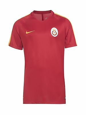 Mens Nike Galatasaray 2016 2017 Football Stadium Home Jersey Shirt 808977 628 L