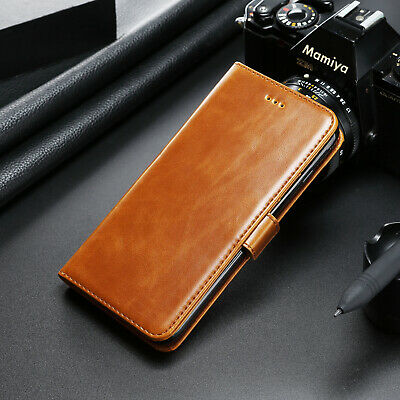 Deluxe Magnetic Leather Stand Wallet Case Flip Cover For Samsung Galaxy Phones