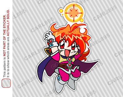 Slayers Chibi Lina Inverse Car/Truck Vinyl Bumper Sticker