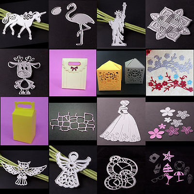 DIY Metal Cutting Dies Stencil Scrapbook Album Paper Card Embossing Crafts Gift