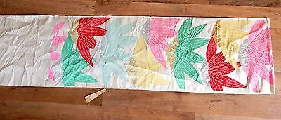 Silk Obi, Ladies Silk Kimono Sash, Pure Silk Embroidered Fabric, Original Tag
