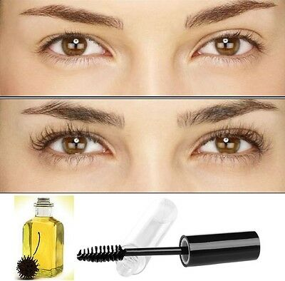 Organic Castor Oil Eyelash/eyebrow Enhancer Growth Serum 100% Natural 8ml.