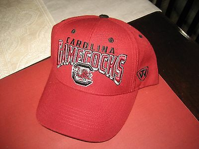 huge discount e9cd8 74df1 Mens Top Of The World South Carolina Gamecocks Hat Cap Red Nwt
