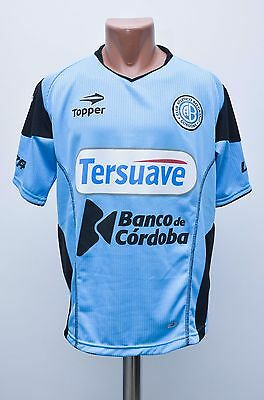 Atletico Belgrano Argentina 2000's Home Football Shirt Maglia Camiseta Topper