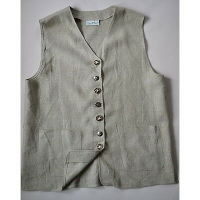 GILET DONNA IN STILE TIROLESE Tg.44/46 Land Haus