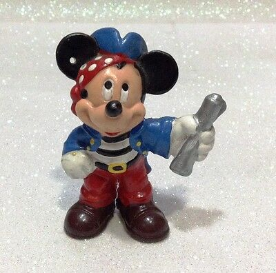 Disney Topolino Mickey Mouse Pirata Bullyland Bully  Fuori Catalogo