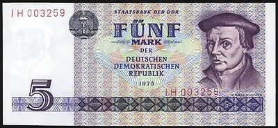 Democratic Republic of Germany 5 Mark P27 Uncirculated