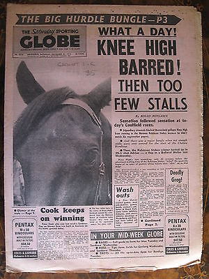 Sporting Globe    NOV 25 1973  KNEE HIGH BARRED