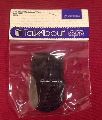 NEW Motorola Talkabout Accessory Holster Belt Case #50979 Two-Way Radio