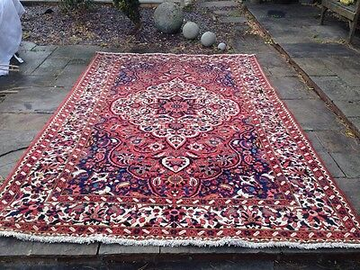 Large Persian Oriental Rug Antique Afghan Vintage Country House Over 10ft