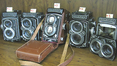 Rolleiflex Rolleicord 5 Camera lot ~ from estate ~ vintage