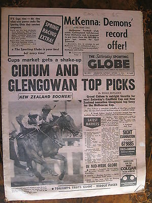 Sporting Globe    OCT 13 1973 Cidium Glengowan