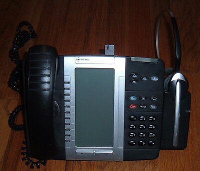 Mitel 5330e IP Phone w/Cordless Headset & Charger Kit - 3 avail
