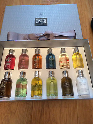 MOLTON BROWN 50ML x 12  gift box-.PINK PEPPERPOD,ETC -BRAND NEW
