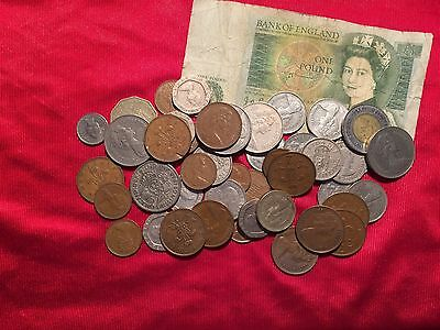 Great Britain Two Shilling,One Shilling,Pound, AND A LOT MORE!! Great Deal!!
