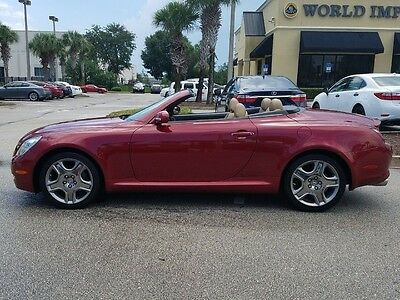 2007 Lexus SC Base Convertible 2-Door ONLY 43K MILES * EXCELLENT CONDITION * WELL MAINTAINED