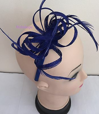 Elegant Headband Fascinator Hat Aliceband Wedding Ladies Day Race Royal Ascot UK