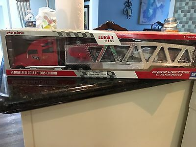 2006 Limited Edition Lukoil Corvette Carrier 3rd Series Collectors Edition