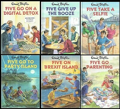 FAMOUS FIVE Birthday or New Baby Card From the GROWN-UPS COLLECTION, Enid Blyton
