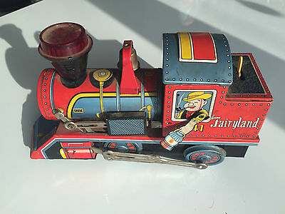 Vintage & Antique Tin Toy Train No. 0741 Made In Japan by Daiya