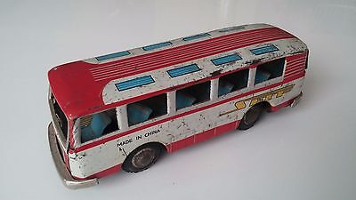 Vintage & Antique Tin Toy BUS MF130 SFTF Made in China