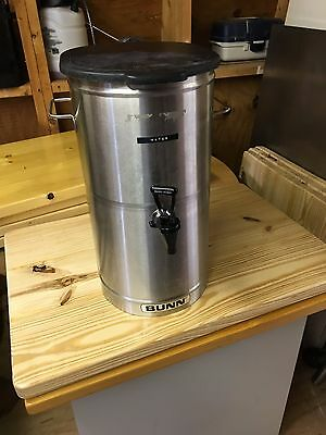 Bunn 5 Gallon Stainless Steel Iced Tea Dispenser