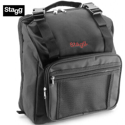 """NEW Stagg Padded Accordion Gig Bag Case ACB-120 Extra Small 13"""" x 12"""" x 7.5"""""""