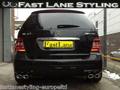 Mercedes Custom Build Stainless Steel Exhaust Cat Back Dual System LTDMLCB037455