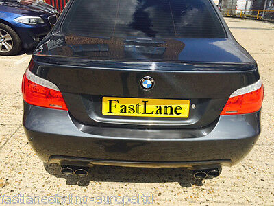 BMW 5 E60 Custom Build Stainless Steel Exhaust Cat-Back