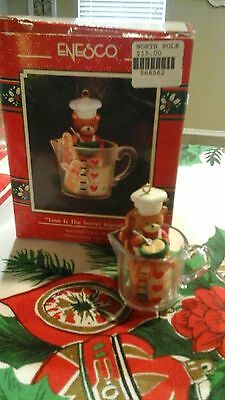 ENESCO Treasury CHRISTMAS ORNAMENT Love is the Secret Ingredient