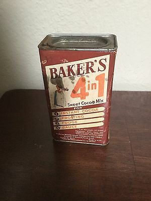 Vintage Baker's 4 In 1 Sweet Cocoa Mix Tin
