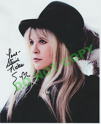 REPRINT RP 8x10 Signed Autographed Photo Picture: Stevie Nicks