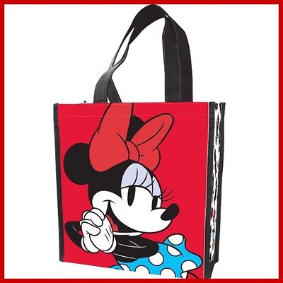 NWT MINNIE MOUSE REUSABLE DISNEY Small GiFT Tote RECYCLED Eco FRIENDLY Bag