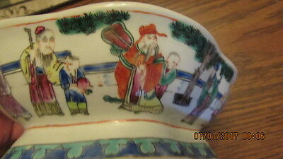 Antique Chinese Famille bowl