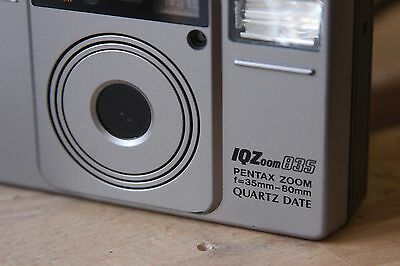 Pentax Iqzoom 835 35Mm Point & Shoot Film Camera / In Working Condition
