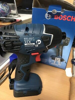 New Bosch GDR18VEC Li-Ion Cordless BrushIess Impact Driver & Wrench Skin Only