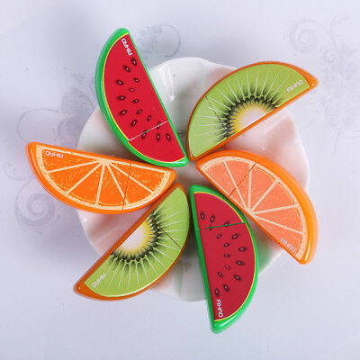 3Pcs Fruit Roller Correction Tape White Out School Office Supply Stationery.