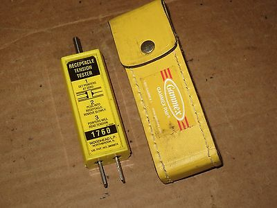 Woodhead L.P. Receptacle Tension Tester 1760
