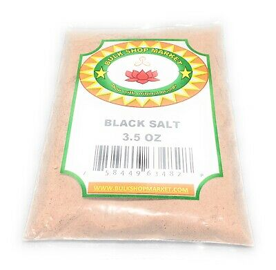 BulkShopMarket Black Salt  3.5oz (100 GM)