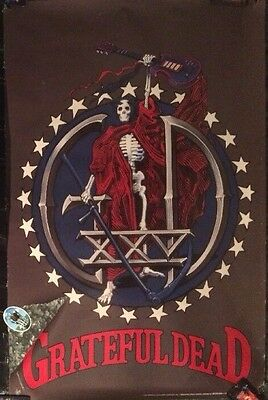 Grateful Dead 1990 25th Anniversary XXV Brockum Poster #7118 NEW Sealed rolled