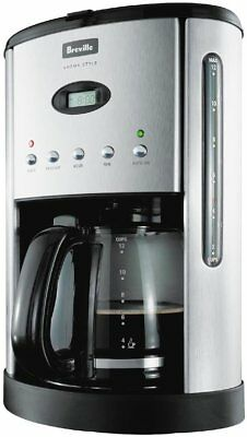 NEW Breville Aroma Style Electronic Coffee Machine - BCM600 from Bing Lee
