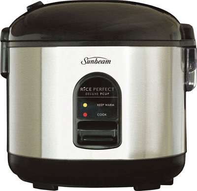 NEW Sunbeam - Rice Perfect     Deluxe 7 and Steamer - RC5600 from Bing Lee