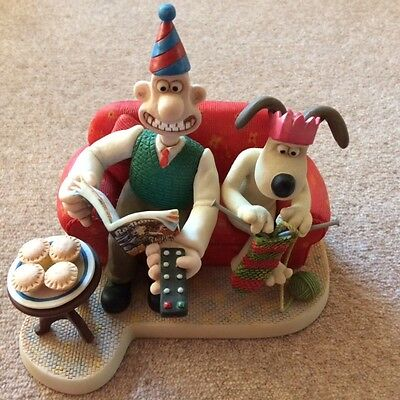 Wallace & Gromit Rare - Radio Times Christmas Edition' 2009 Ltd Ed Wgcs09 Harrop